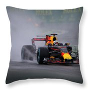 Formula 1 Monza 2017 Throw Pillow