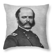 General Burnside Throw Pillow