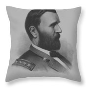 General Grant Throw Pillow