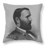 General Grant Throw Pillow