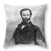 General Sherman Throw Pillow by War Is Hell Store