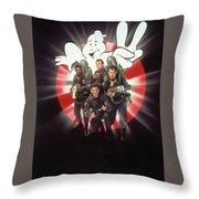 Ghostbusters II 1989  Throw Pillow