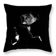 Giacomo Puccini, Italian Composer Throw Pillow