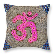 Gift Of Om From Ancient Indian Culture Fineart Graphics By Navinjoshi At Fineartamerica.com Popular  Throw Pillow