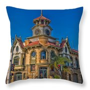 Gilroy's Old City Hall Throw Pillow