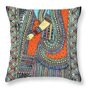 Gopi Throw Pillow