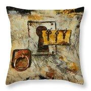 Grab The Brass Ring Throw Pillow