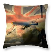 Grace Spitfire Ml407 Throw Pillow