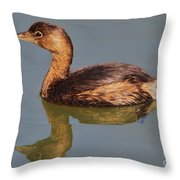 Grebe Throw Pillow