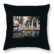 Greece Throw Pillow