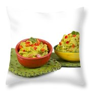 Guacamole. Throw Pillow