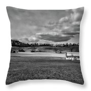 Heaven - West Virginia Throw Pillow