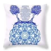 Hebrew Prayer- Toda- Thanks To The Lord Throw Pillow