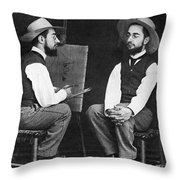 Henri De Toulouse-lautrec Throw Pillow