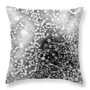 Hepatitis B, Tem Throw Pillow