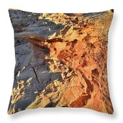 High Above Wash 3 In Valley Of Fire Throw Pillow