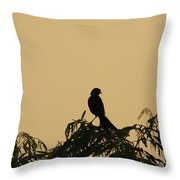 High In The Tree Throw Pillow