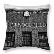 Historic Rickwood Field Throw Pillow