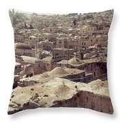 Holy Land: Jerusalem Throw Pillow