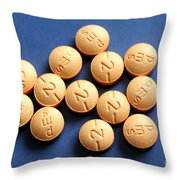 Hydromorphone 2 Mg Tablets Throw Pillow