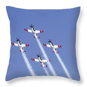Iaf Acrobatic Team Throw Pillow