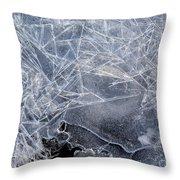 2. Ice Pattern 1, Corbridge Throw Pillow