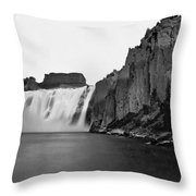 Idaho: Shoshone Falls Throw Pillow