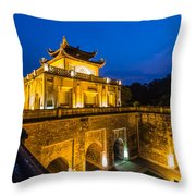 Imperial Citadel Of Hanoi Throw Pillow