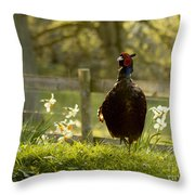 In My Magic Garden Throw Pillow