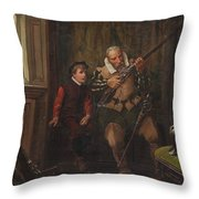 In The Armoury Throw Pillow