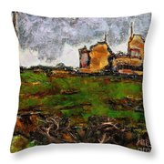 In The Field 29 Throw Pillow