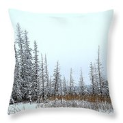 In The Meadow Throw Pillow