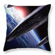 Independence Day 1996 Throw Pillow