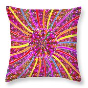 Infinity Star Flower An Abstract Fineart Expression By Navinjoshi At Fineartamerica.com Colorful Spe Throw Pillow