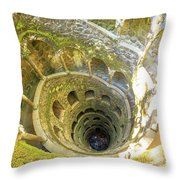 Initiation Well Sintra Throw Pillow