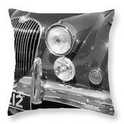 Jaguar Xk Series Throw Pillow
