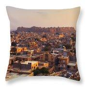 Jaisalmer - India Throw Pillow