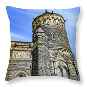 James A. Garfield Memorial Throw Pillow