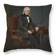 James Knox Polk (1795-1849) Throw Pillow by Granger