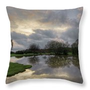 Janesmoor Pond - New Forest Throw Pillow