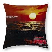 Jaws 2 1978  Throw Pillow