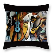 Jazzz Throw Pillow