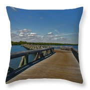 2- J.d. Macarthur State Park Throw Pillow