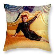 Joan Crawford (1905-1977) Throw Pillow by Granger