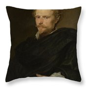 Johannes Baptista Franck Throw Pillow