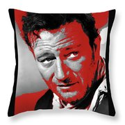 John Wayne 3 Godfathers Publicity Photo 1948-2013 Throw Pillow