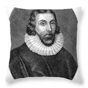 John Winthrop (1588-1649) Throw Pillow
