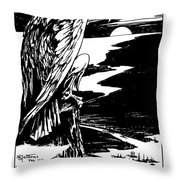On Guard - Join The Navy Throw Pillow