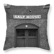 Jonesborough Tennessee - Salt House Throw Pillow