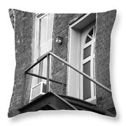 Jonesborough Tennessee - Upstairs Neighbors Throw Pillow